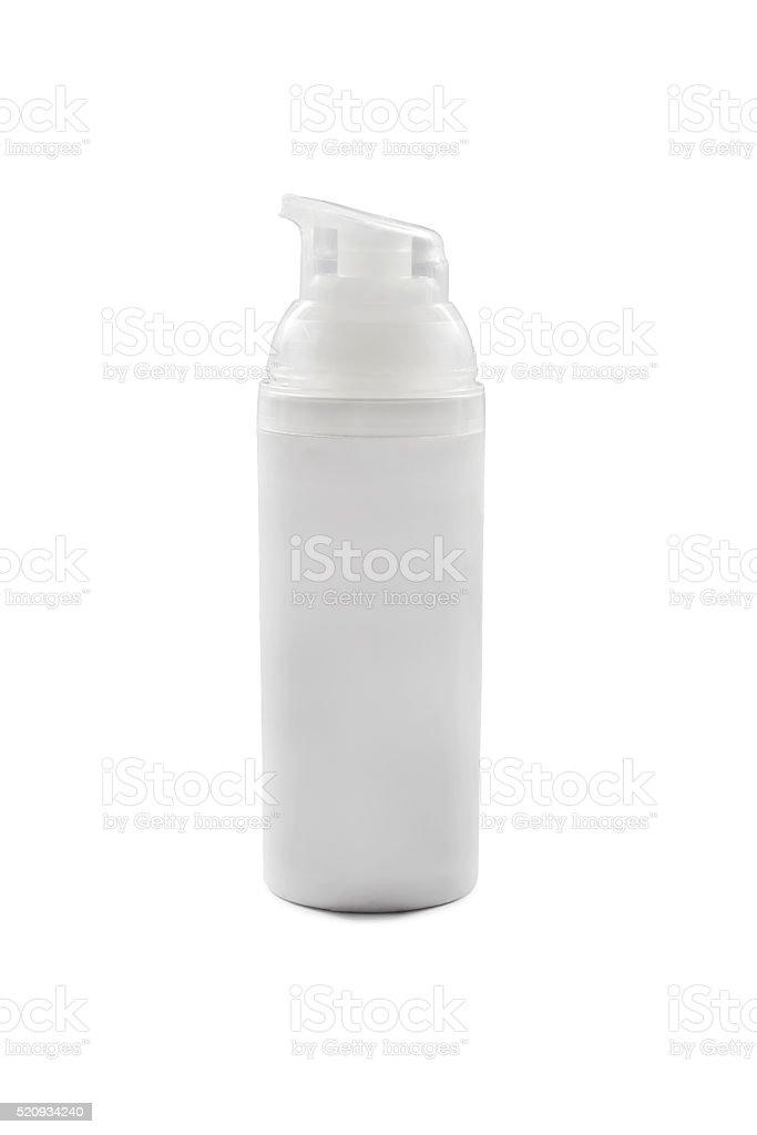 White bottle stock photo
