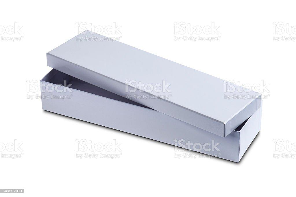 White Box royalty-free stock photo