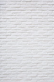 White brick texture background