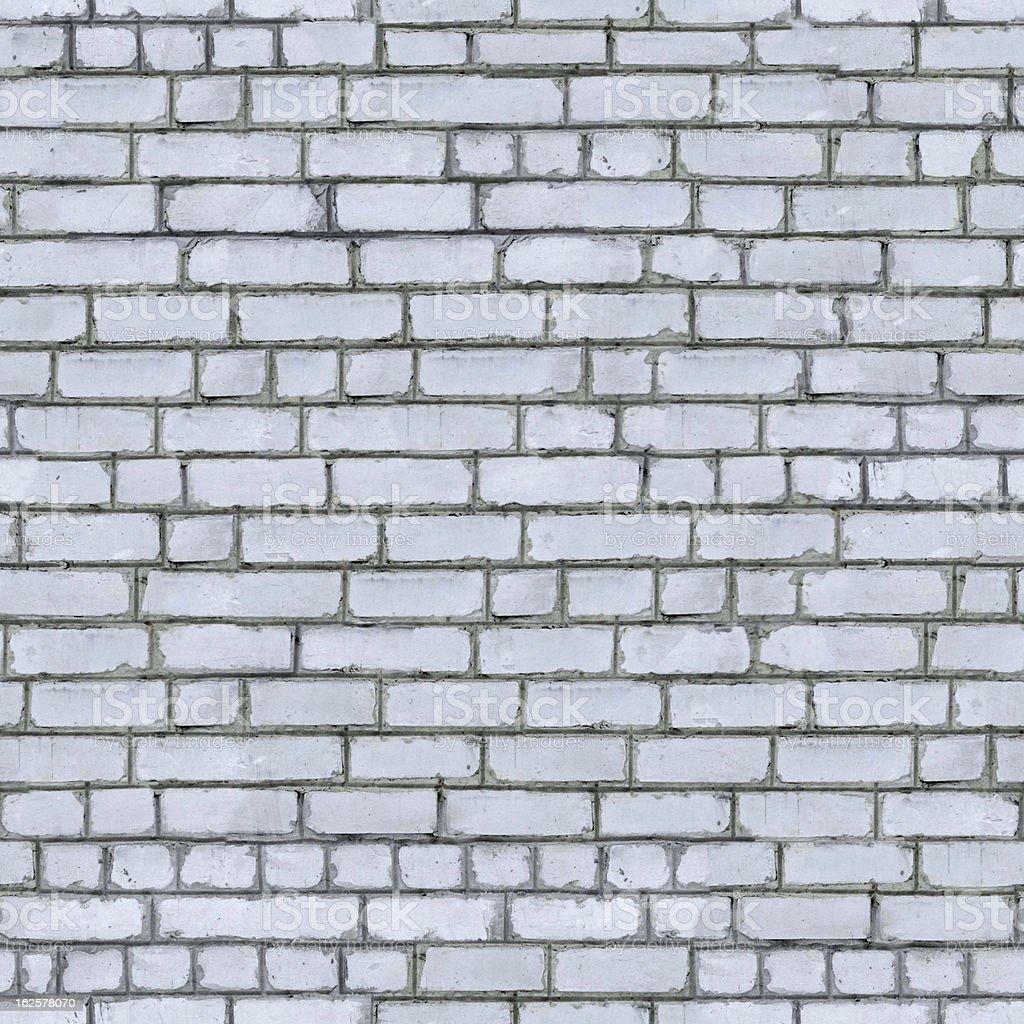 White Brick Wall Background. royalty-free stock photo