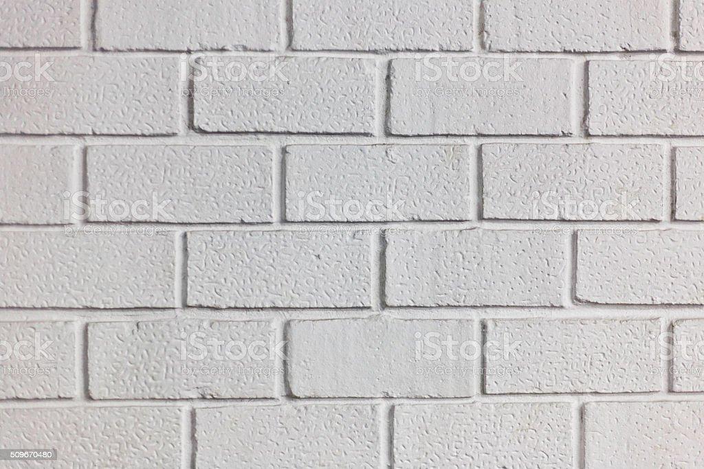 white brick wall pattern stock photo