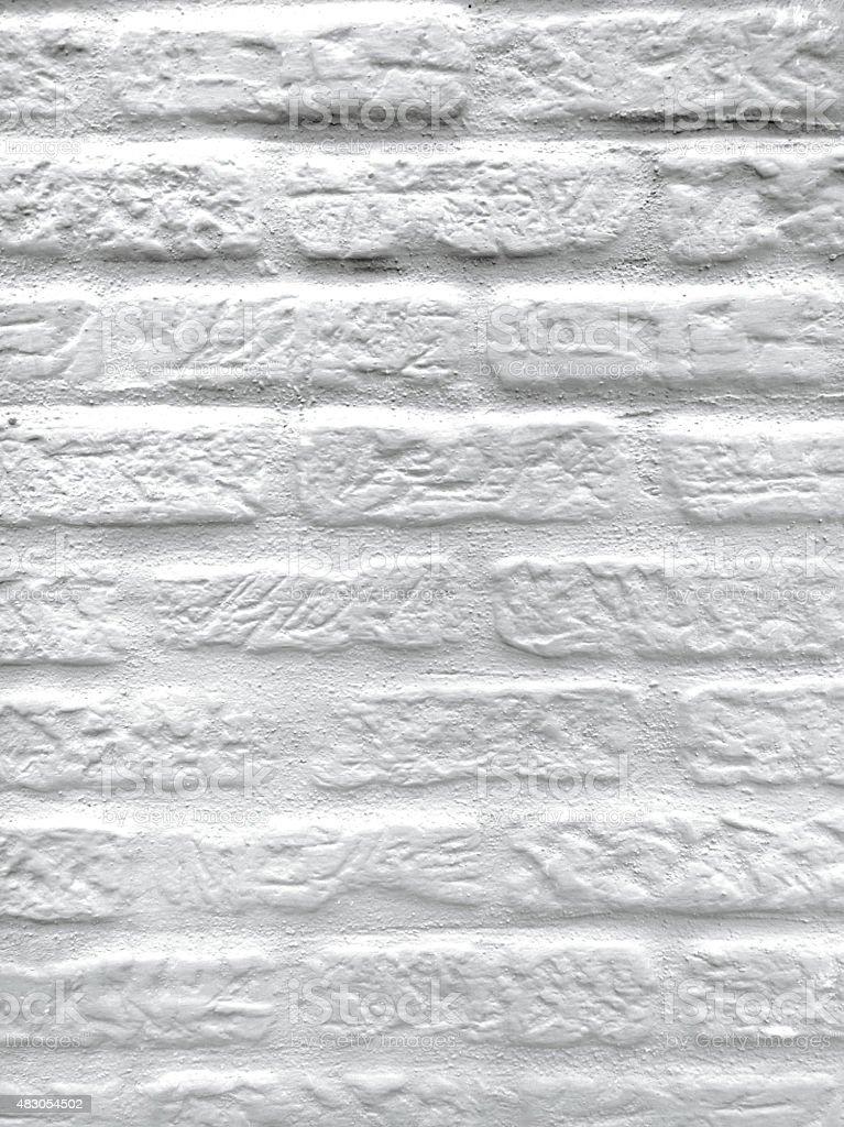 Textura de parede de tijolo branco foto royalty-free