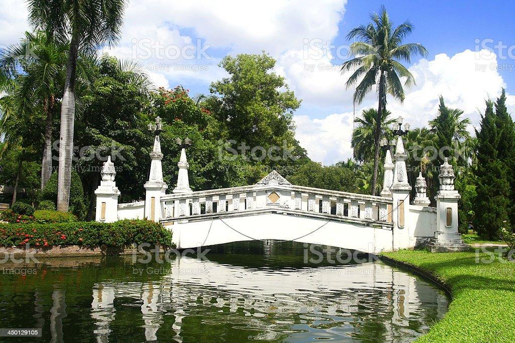 white bridge royalty-free stock photo