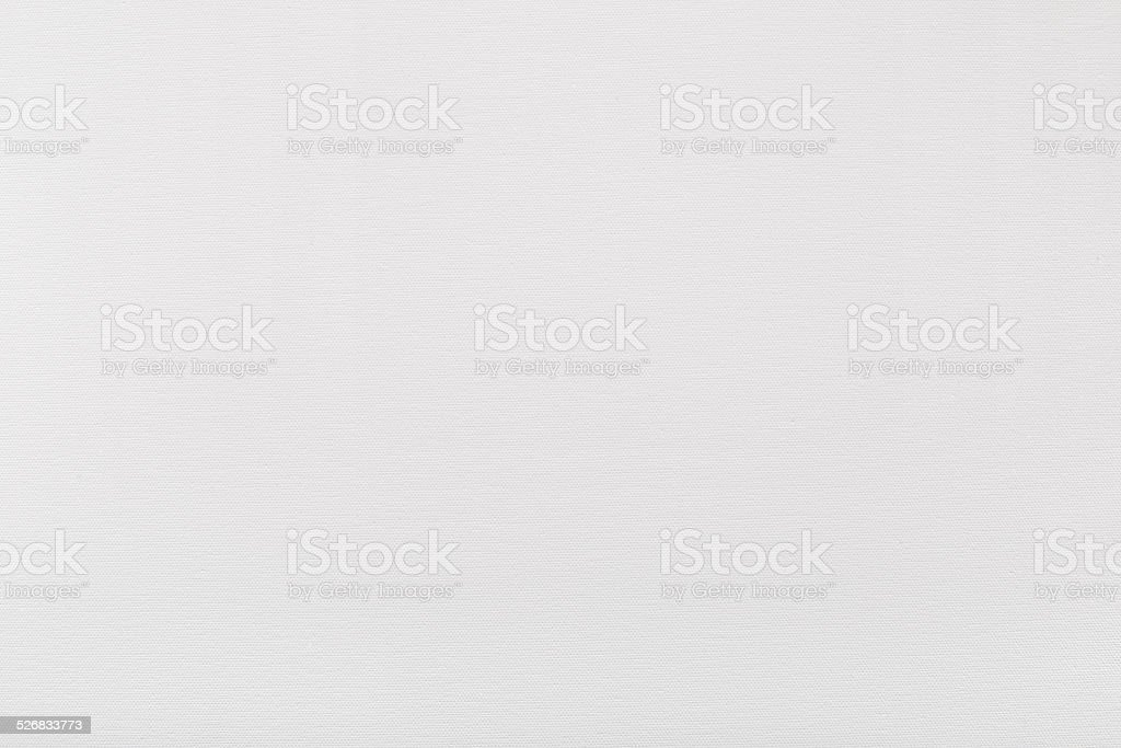 White canvas background, texture for painter stock photo
