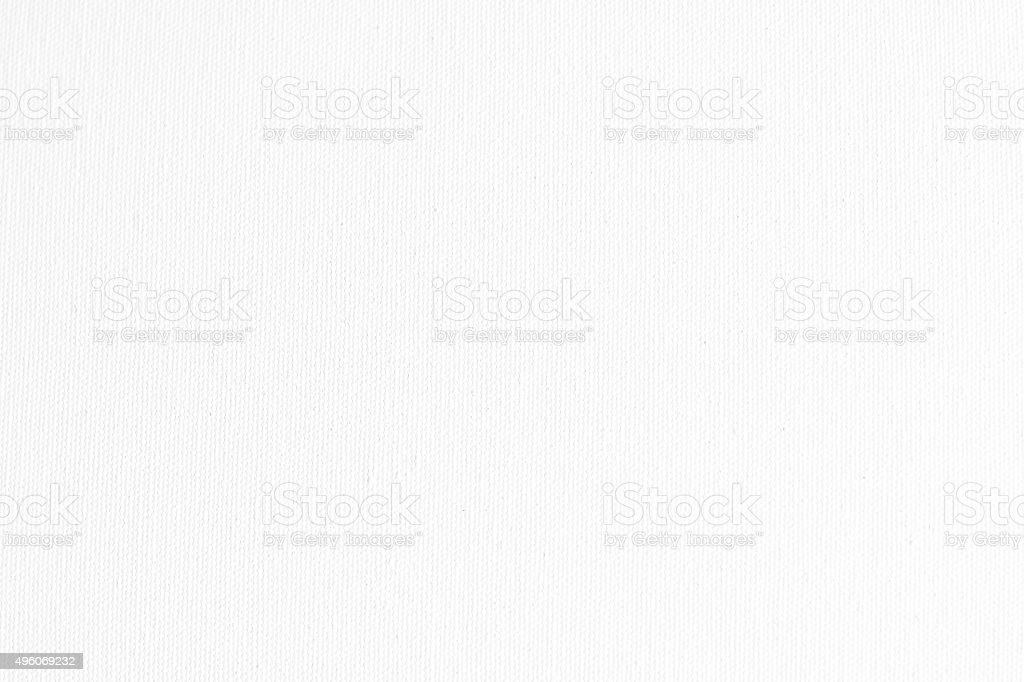 White canvas fabric texture background stock photo