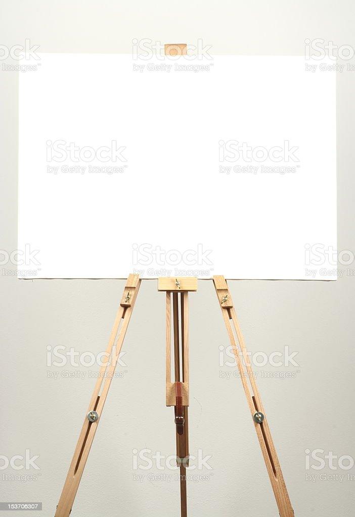 white canvas royalty-free stock photo