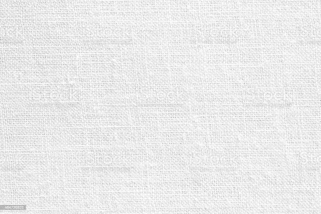 White canvas textile texture background stock photo