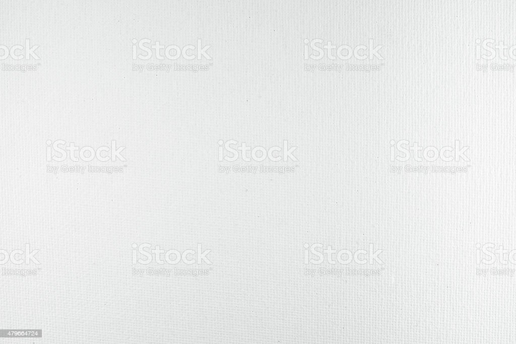 White canvas texture background stock photo