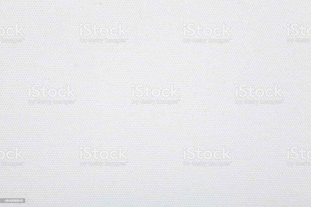 white canvas texture stock photo