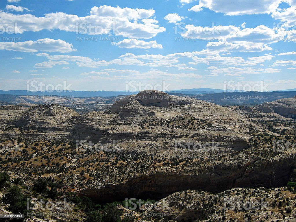 White Canyons stock photo