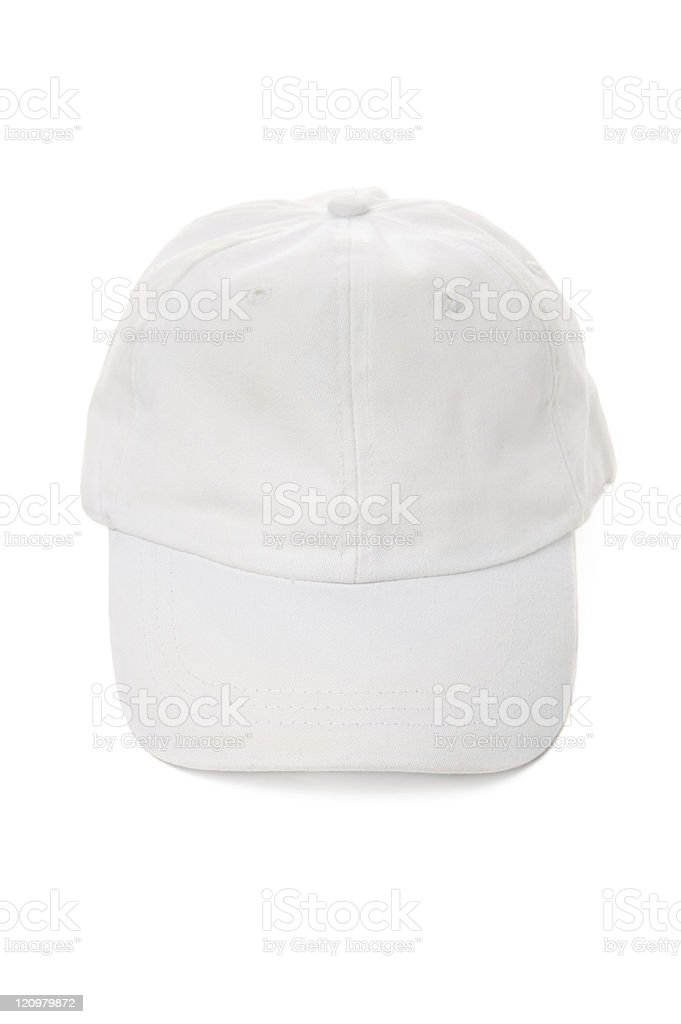 White Cap royalty-free stock photo