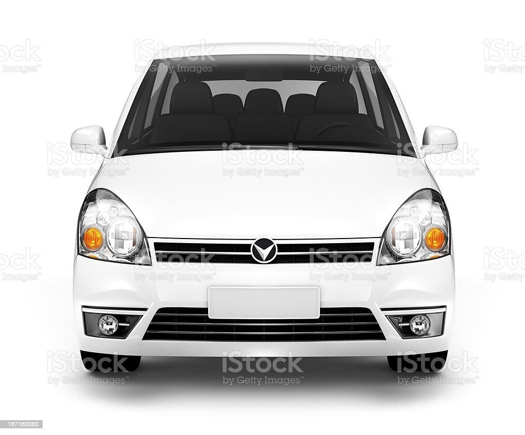 White Car royalty-free stock photo