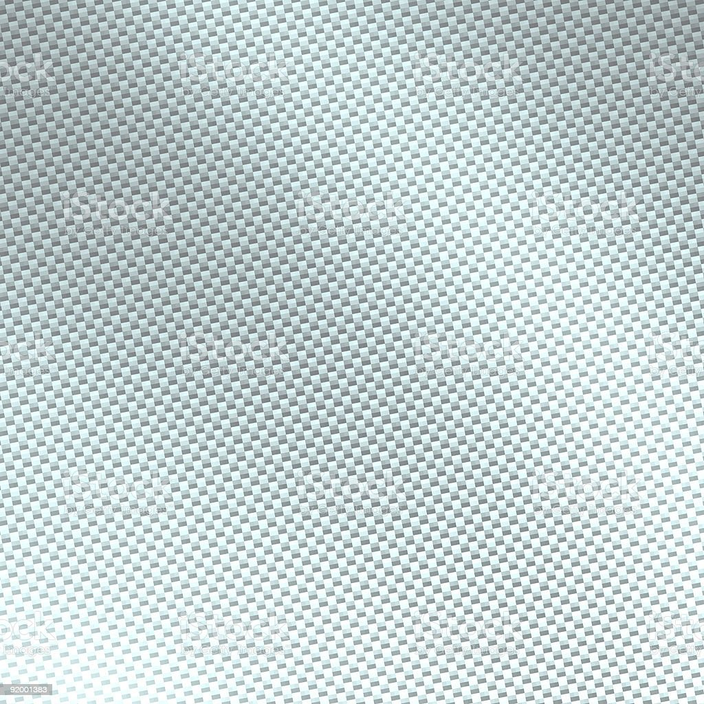 White Carbon Fiber stock photo