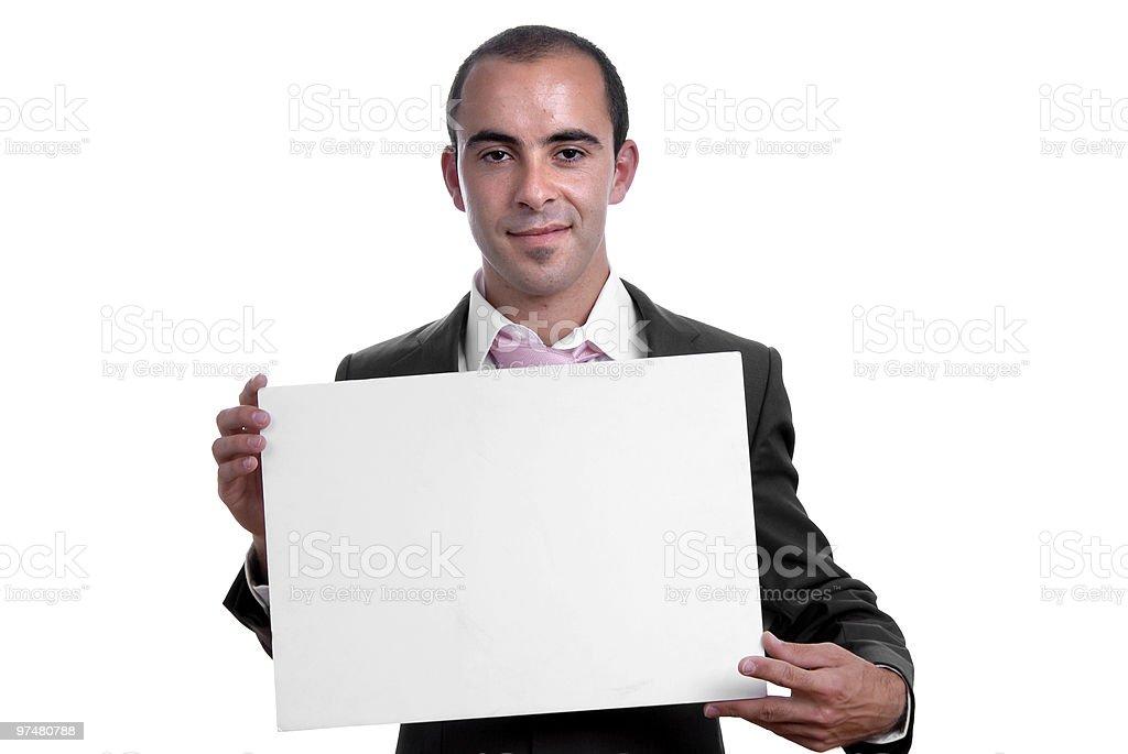 white card stock photo