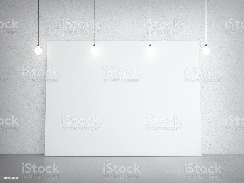white cardboard royalty-free stock photo