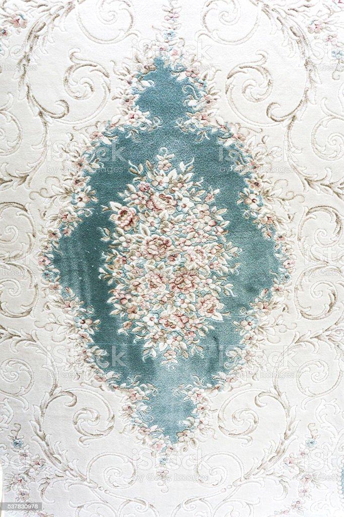 White carpet background stock photo