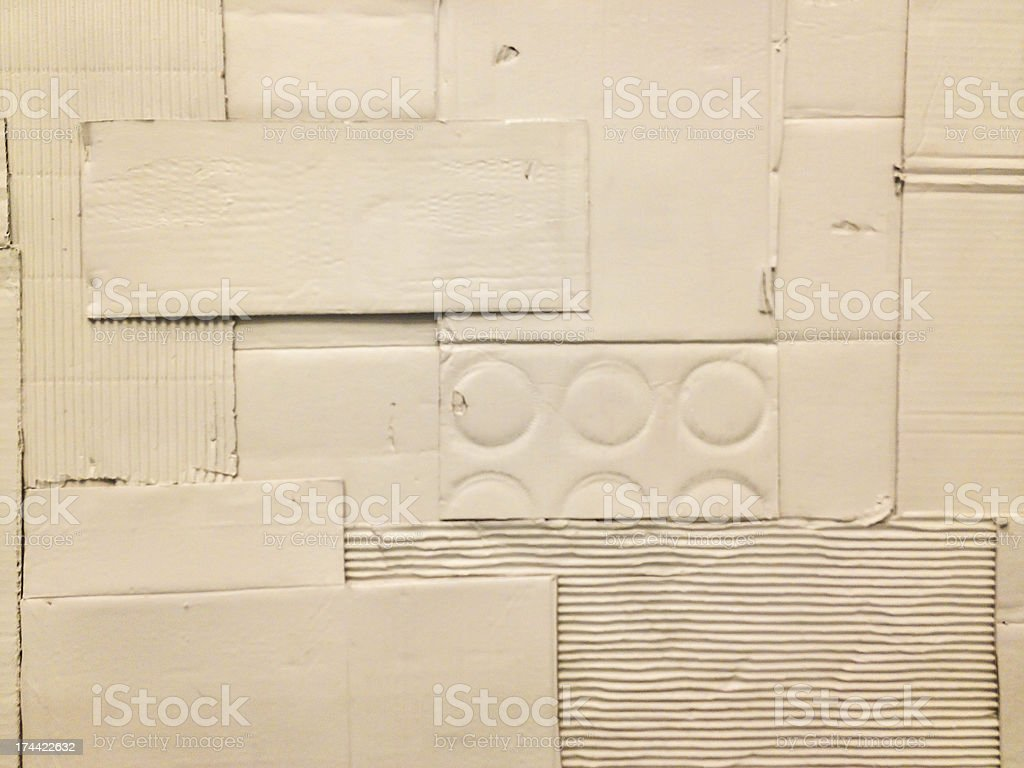 white carton crepe-paper texture or background stock photo