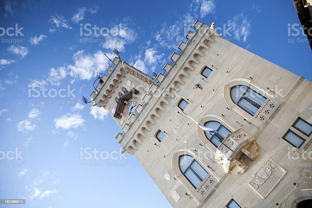 White castle III royalty-free stock photo