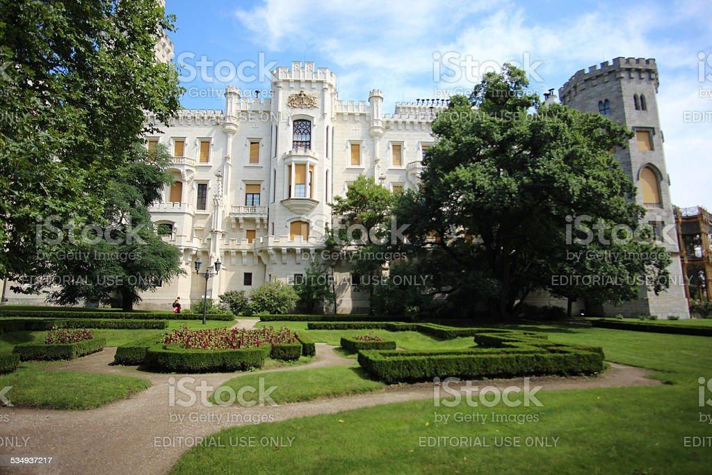 White Castle in Europe stock photo