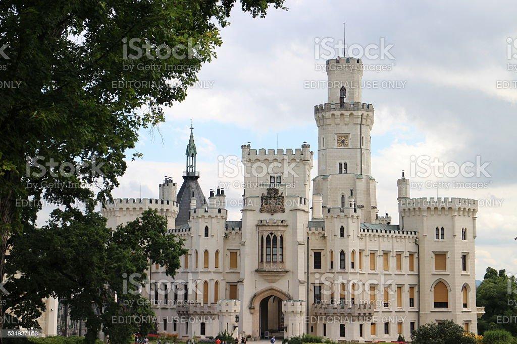 White Castle stock photo