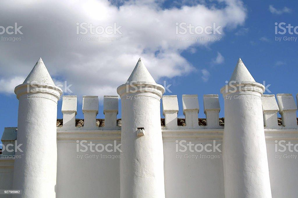 White castle royalty-free stock photo