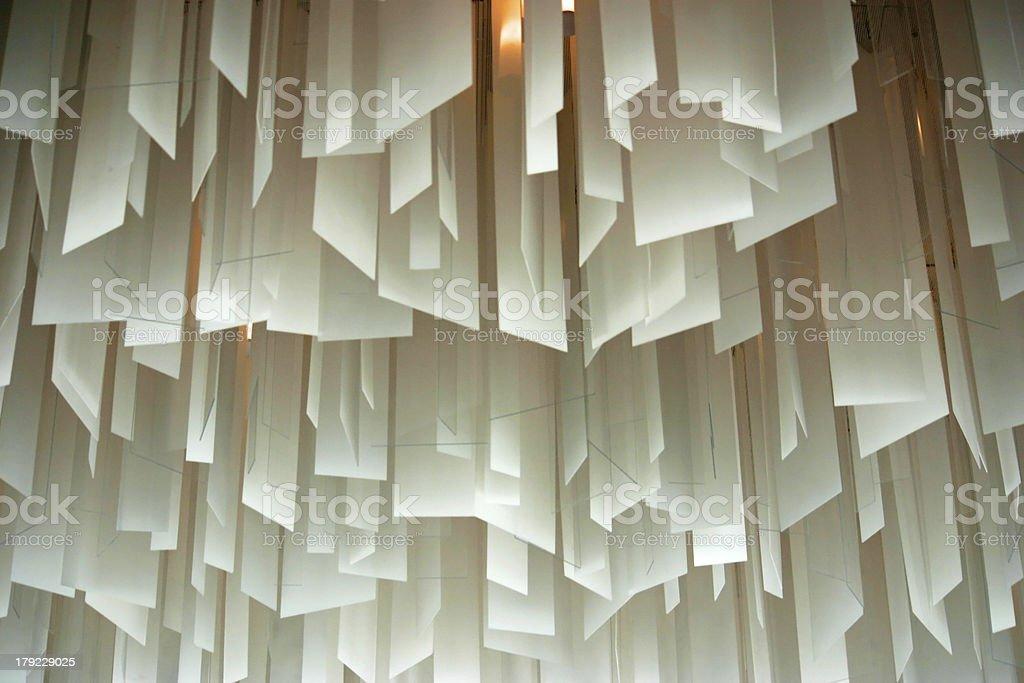White Ceiling royalty-free stock photo