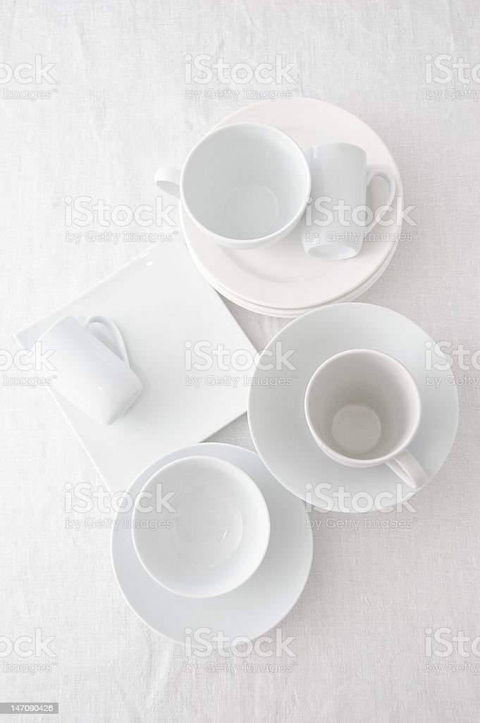 white ceramic royalty-free stock photo
