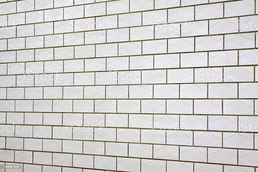 white ceramic tile wall stock photo