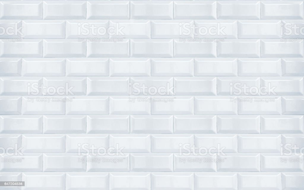 White ceramic tiles texture closeup stock photo
