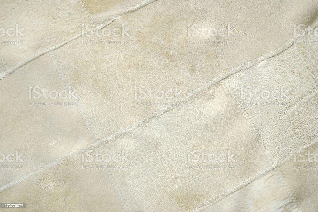 White Chamois Texture royalty-free stock photo