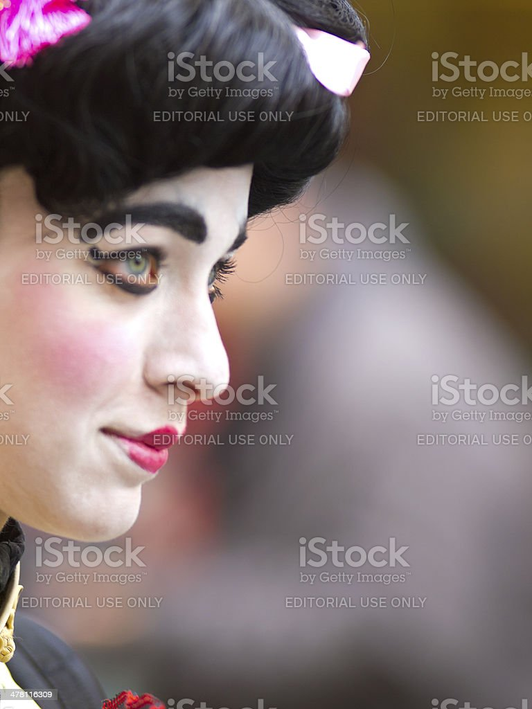 White Chinese royalty-free stock photo