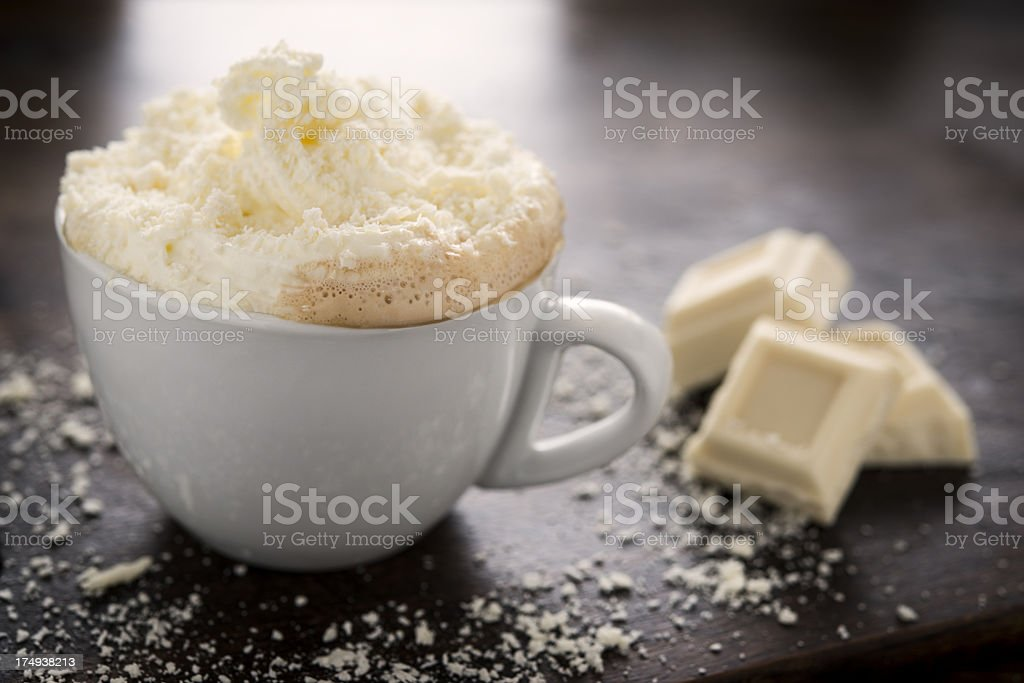 White Chocolate Mocha stock photo