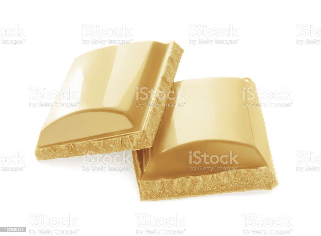 White chocolate royalty-free stock photo