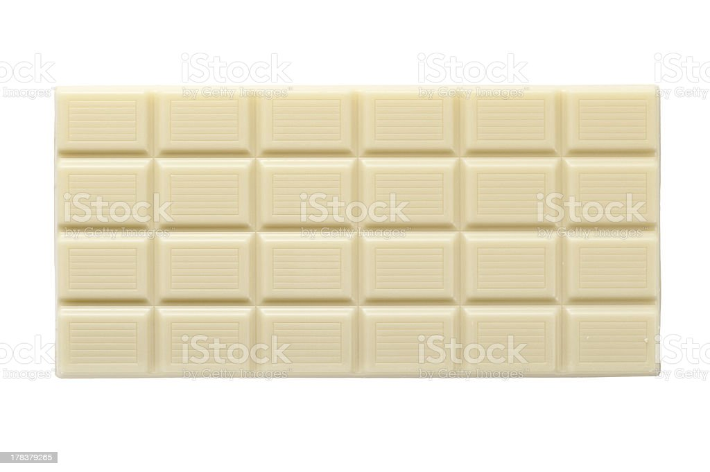 white chocolate stock photo