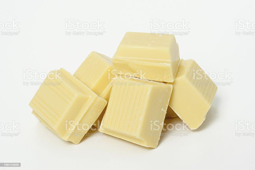 White Chokolate royalty-free stock photo