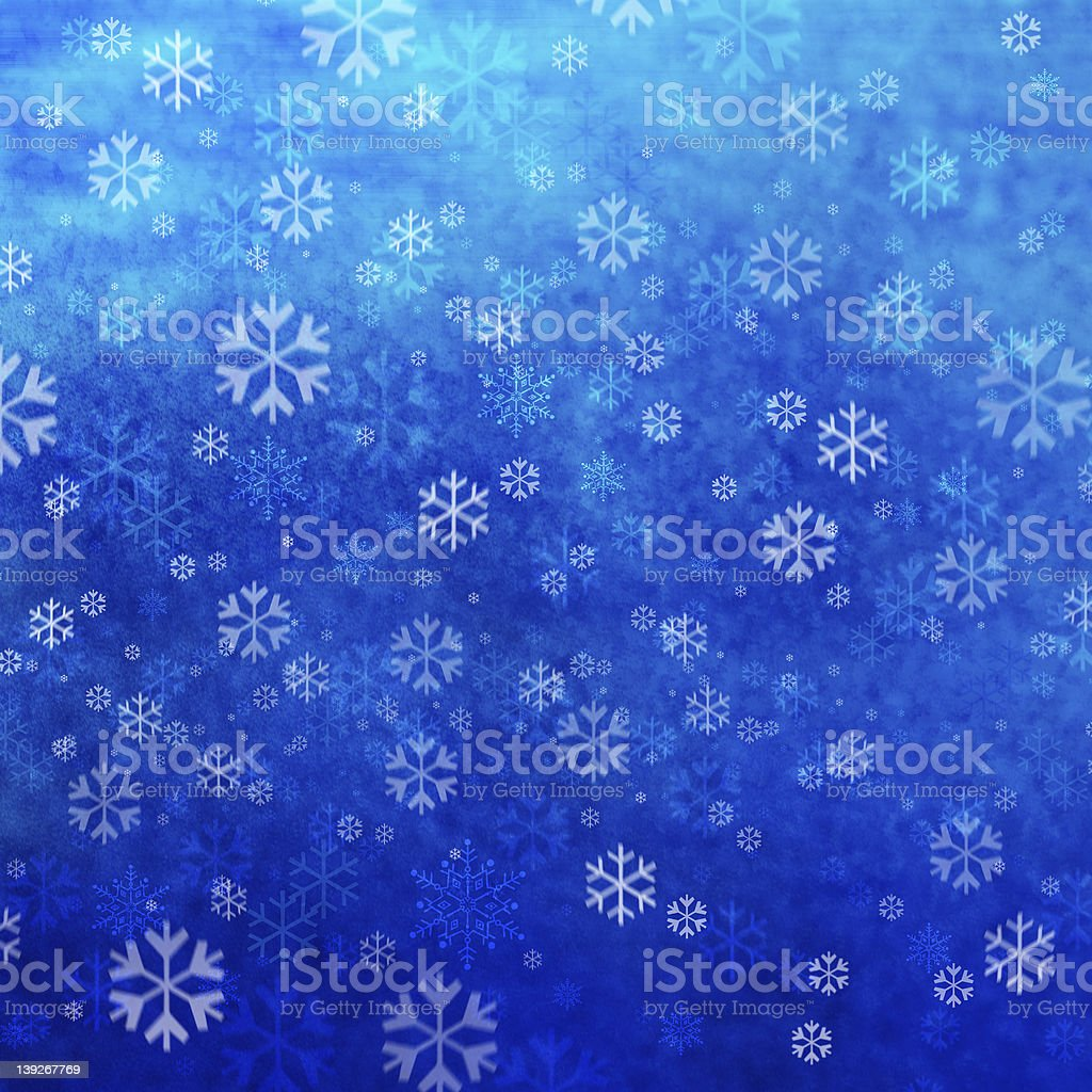 White Christmas royalty-free stock photo