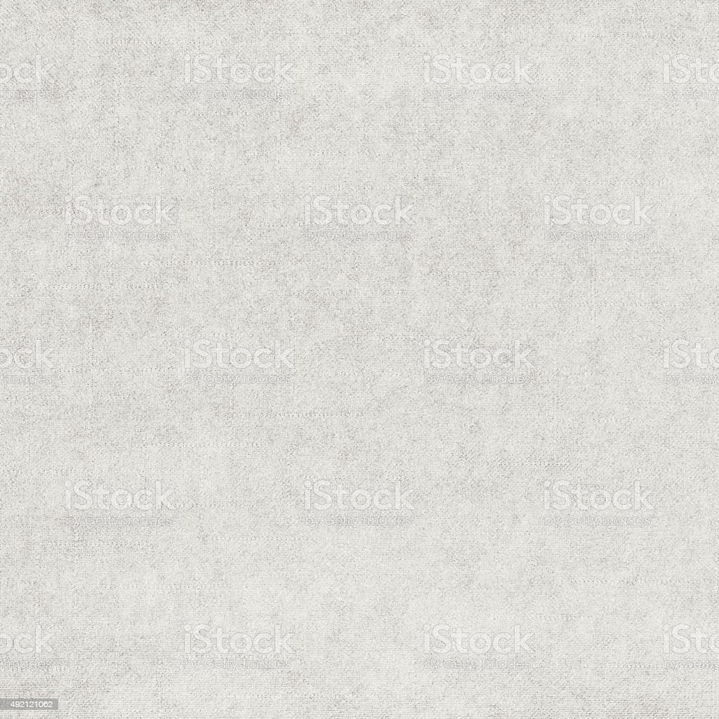 White classic fabric texture with delicate squared pattern, grunge background stock photo