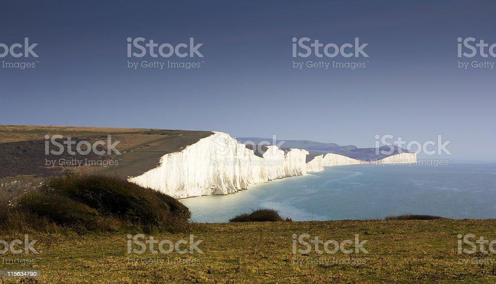 White Cliffes stock photo