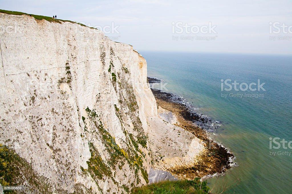 White cliffs, Dover UK stock photo