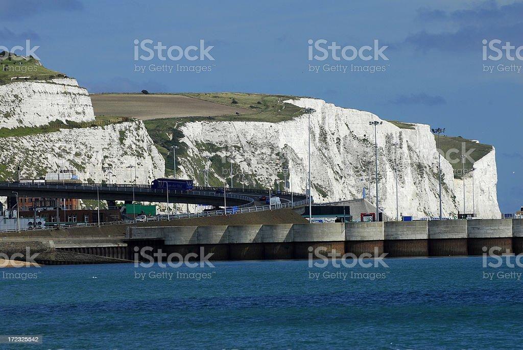 White Cliffs of Dover 2 stock photo