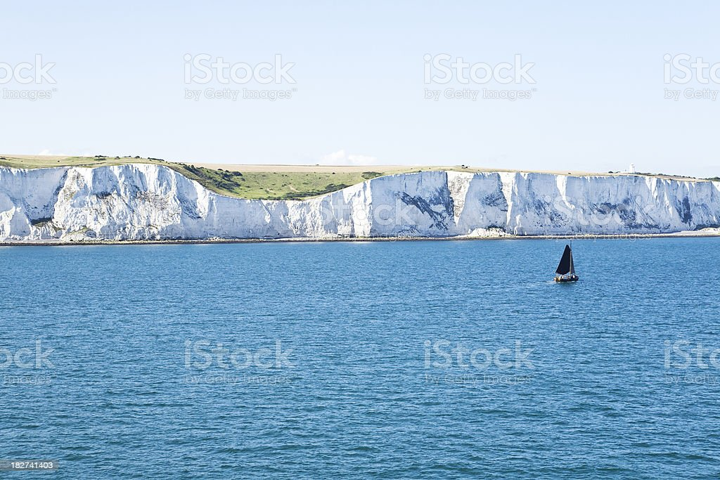 'White Cliffs of Dover, England' stock photo