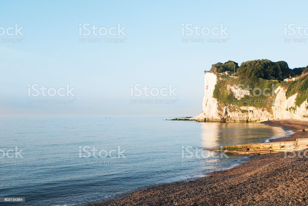 White cliffs of Dover, England, United Kingdom stock photo