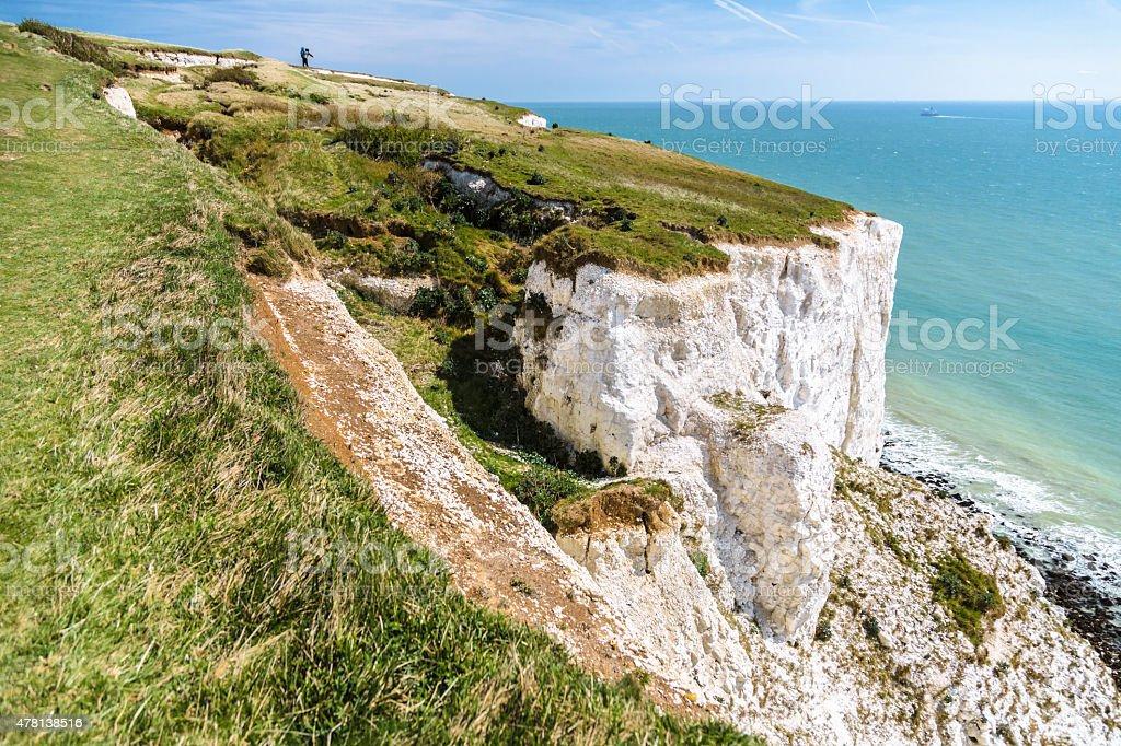 White Cliffs of Dover stock photo