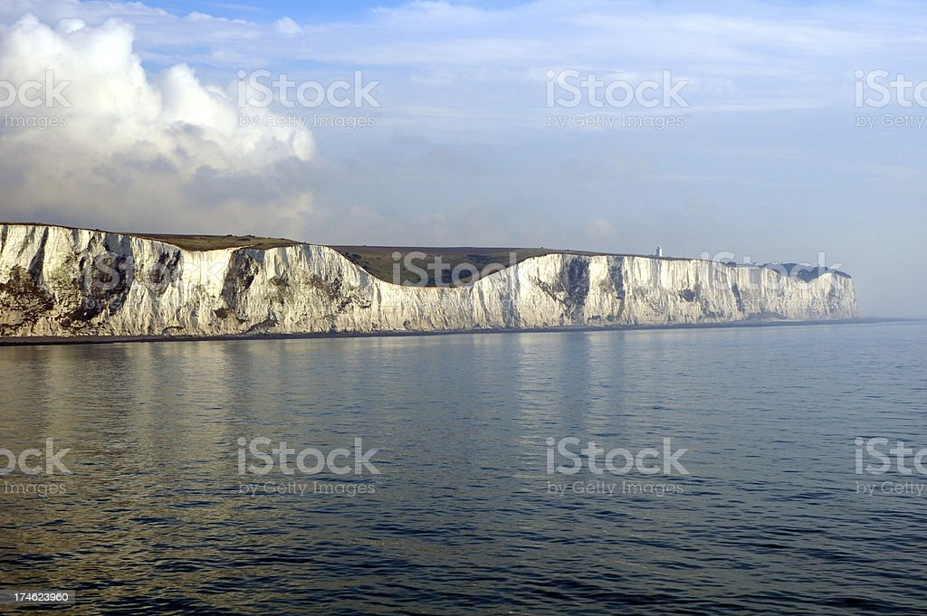 White Cliffs royalty-free stock photo