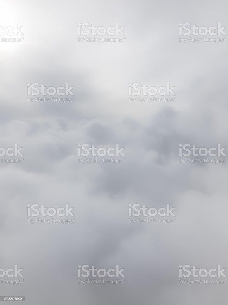 White Cloud Background stock photo