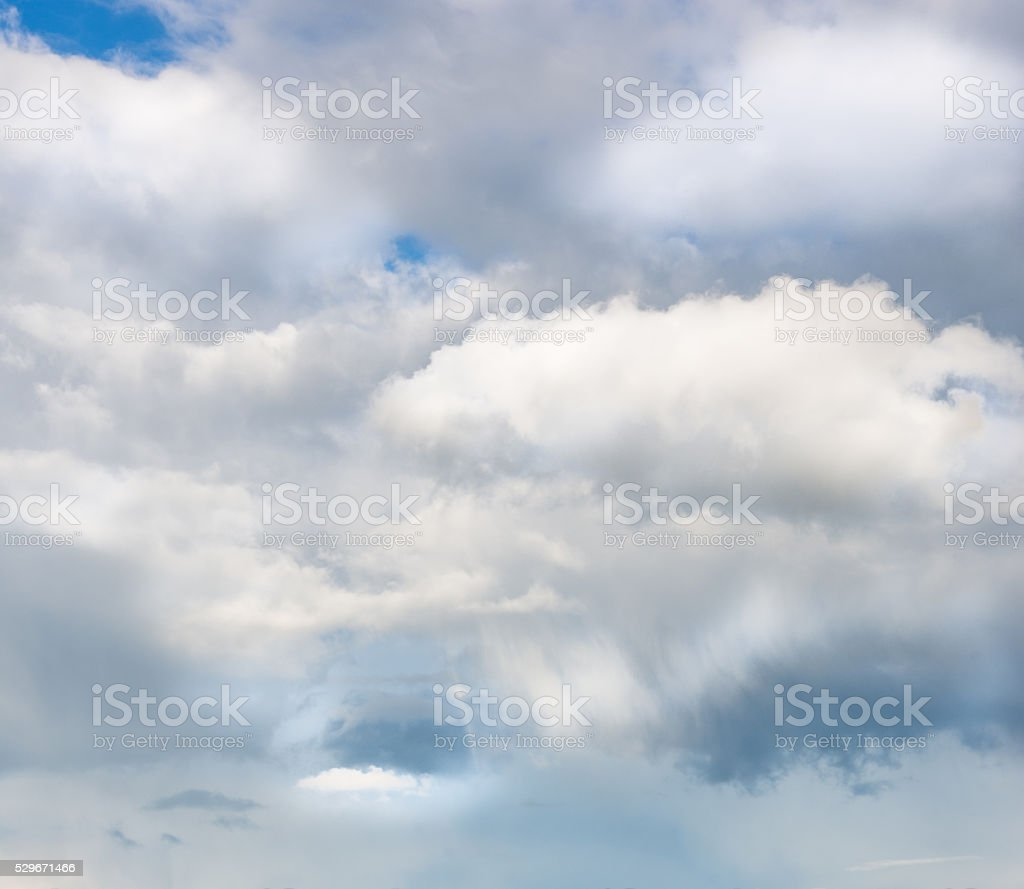 White cloude on blue sky stock photo