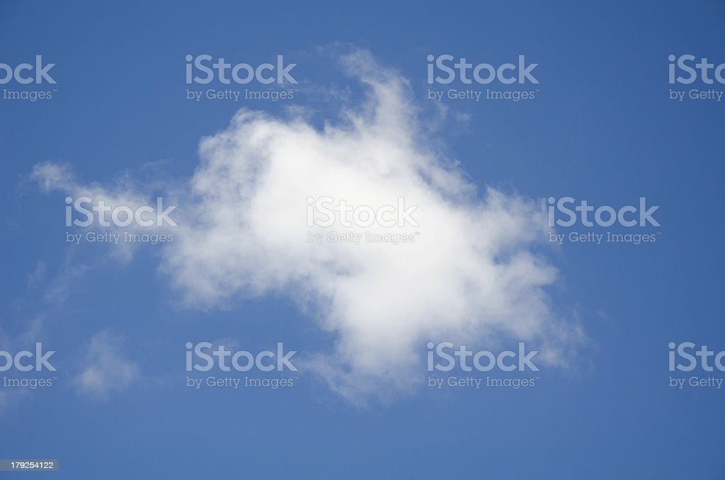white clouds against blue sky royalty-free stock photo