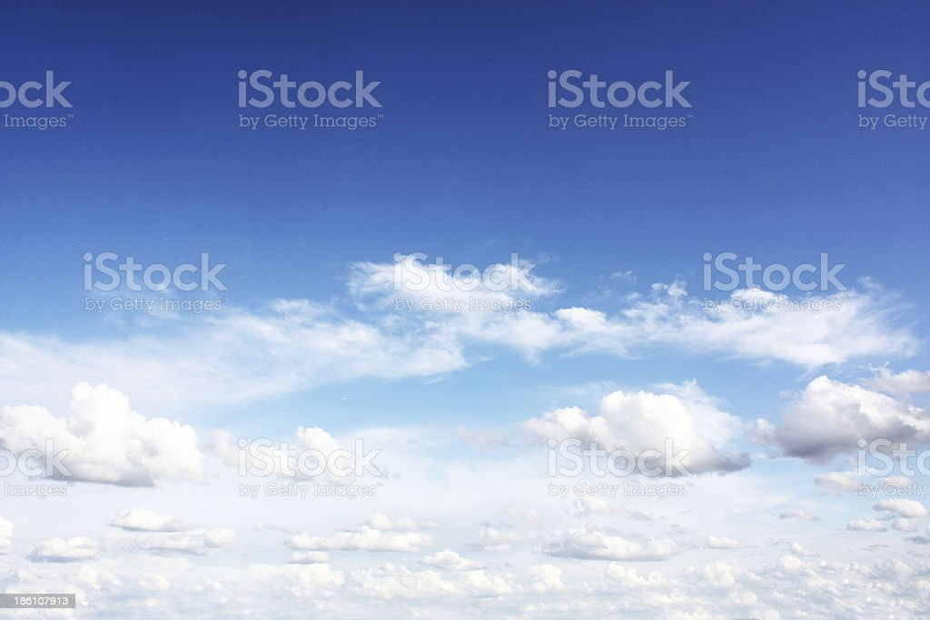 white clouds background royalty-free stock photo