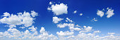 White clouds in the blue sky, SCROLL DOWN for more