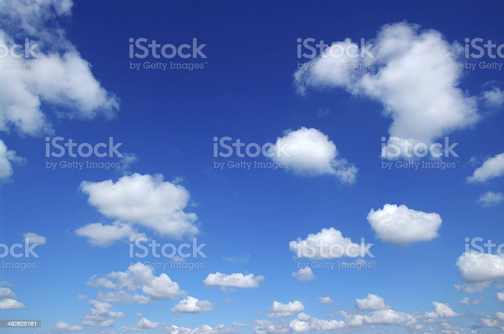 white clouds royalty-free stock photo